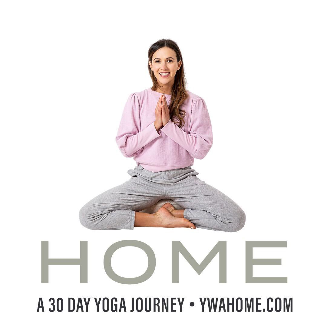 Another start to a new year with the lovely Adriene #YWAHOME So looking forward to this new year yoga class! She generously offers this for free! Much love ❤️