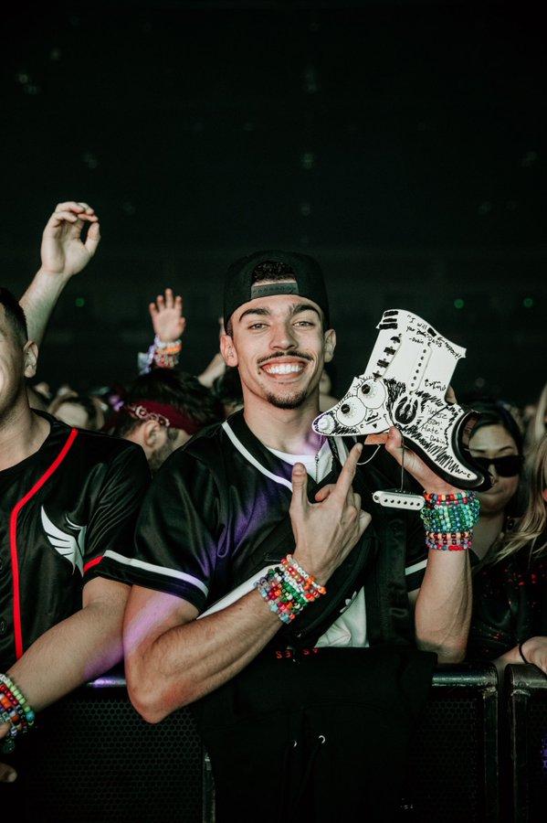 Dabin Trolls EDM Sub In Last Illenium Ascend Show