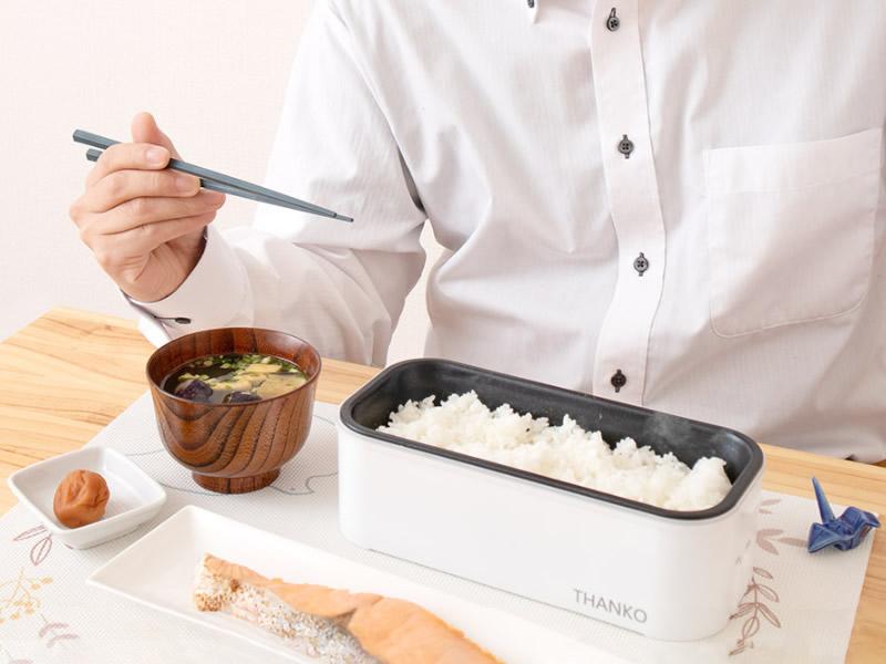 最短14分で炊き上がる、「おひとりさま用超高速弁当箱炊飯器」登場wwwww