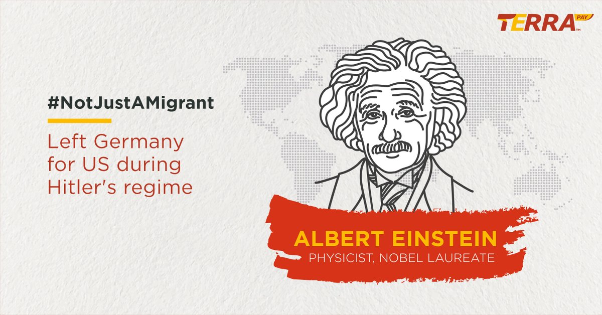 He was #NotJustAMigrant but one of the greatest #scientists on earth who changed the world and our lives forever with his Theory of Relativity.  Don't forget to share your stories with us.  #migrantmemories #migrantsareheroes #InternationalMigrantsDay #WithDignity #Remittancepic.twitter.com/vvz1nYzUOu
