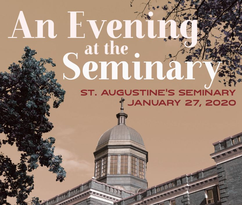 Get a glimpse into priestly formation with An Evening at the Seminary! Join us for Mass, a talk by @FatherLemieux, dinner, and a tour of the seminary. Register at http://www.vocationstoronto.ca . #vocationsTO #ThinkingPriesthood  Monday, January 27 | 4:45pm | St. Augustine's Seminary pic.twitter.com/0t3B2zcjrW