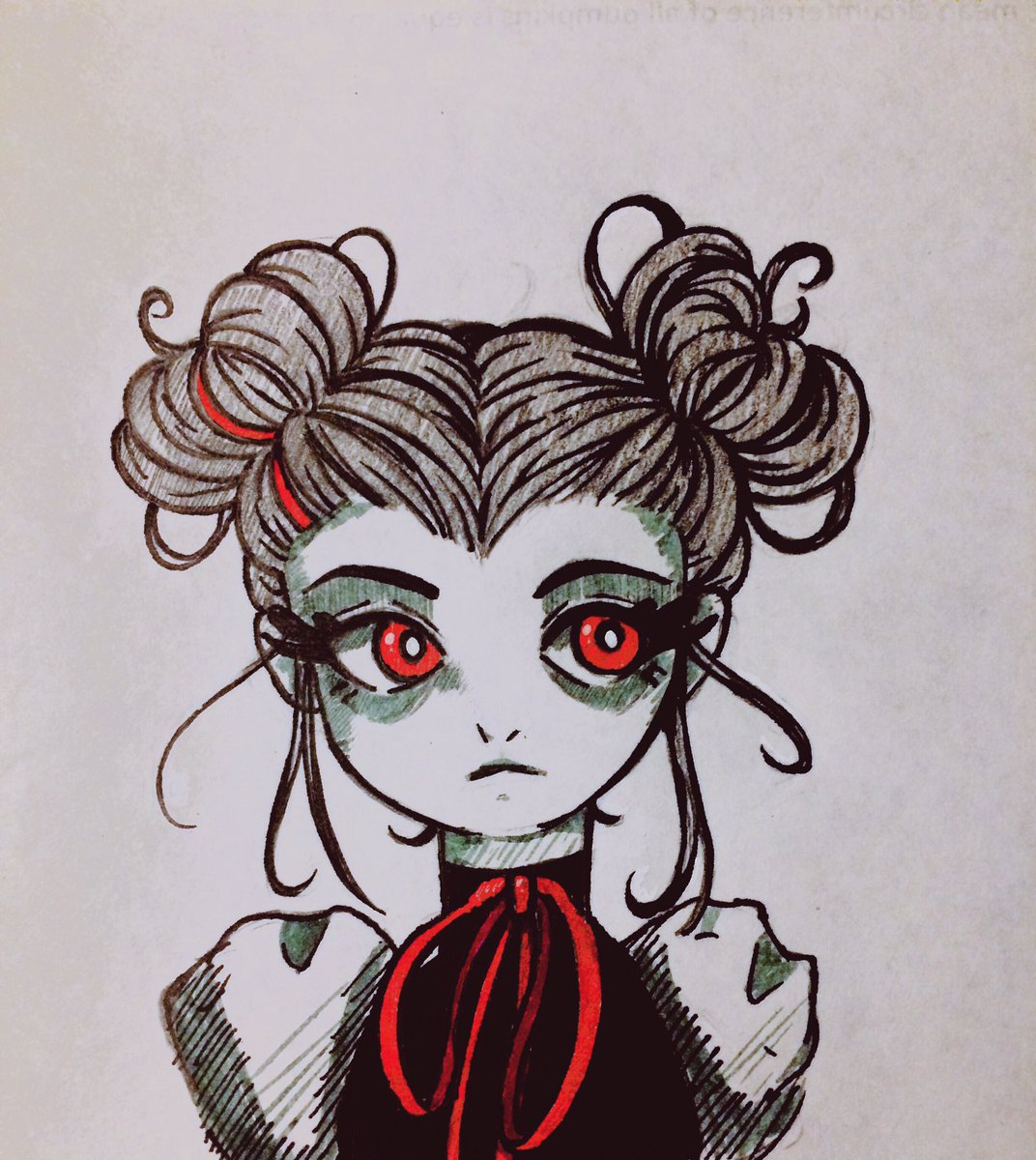 #myart #myartwork #drawing #doodle #ink #anime #animeart #ink https://t.co/uj3RlZCVa8