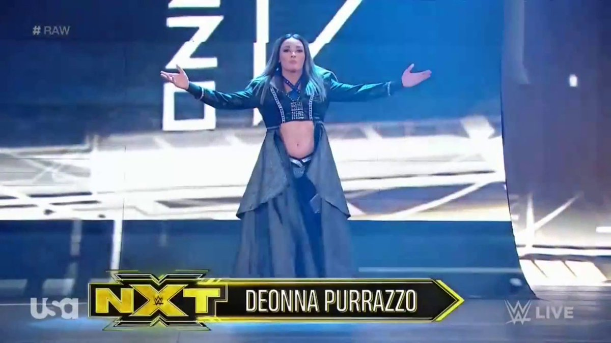 WWE NXT Superstar Deonna Purrazzo Makes RAW Debut Tonight (Photos, Videos)