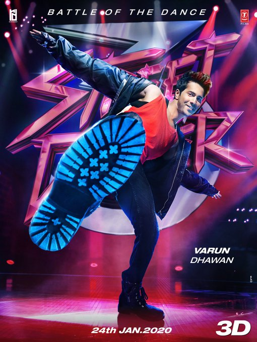 It's time to HIT the dance floor and battle it out 🔥 #StreetDancer3D trailer out tomorrow   @Varun_dvn