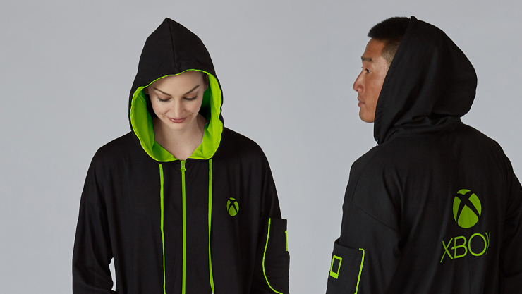 """The Xbox """"Hooded Union Suit"""" is back 🎮… and for the 💚 FIRST TIME EVER 💚 it's available in the UK! They're limited edition, so get yours now! ➡️https://www.microsoft.com/en-gb/p/xbox-hooded-union-suit/90M7TFKCJ25M…"""