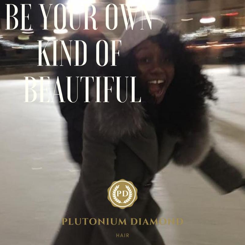 Be your own kind of beautiful   #PlutoniumDiamondHair * * * *  #beautifulhairstyle#fabulous#luxury