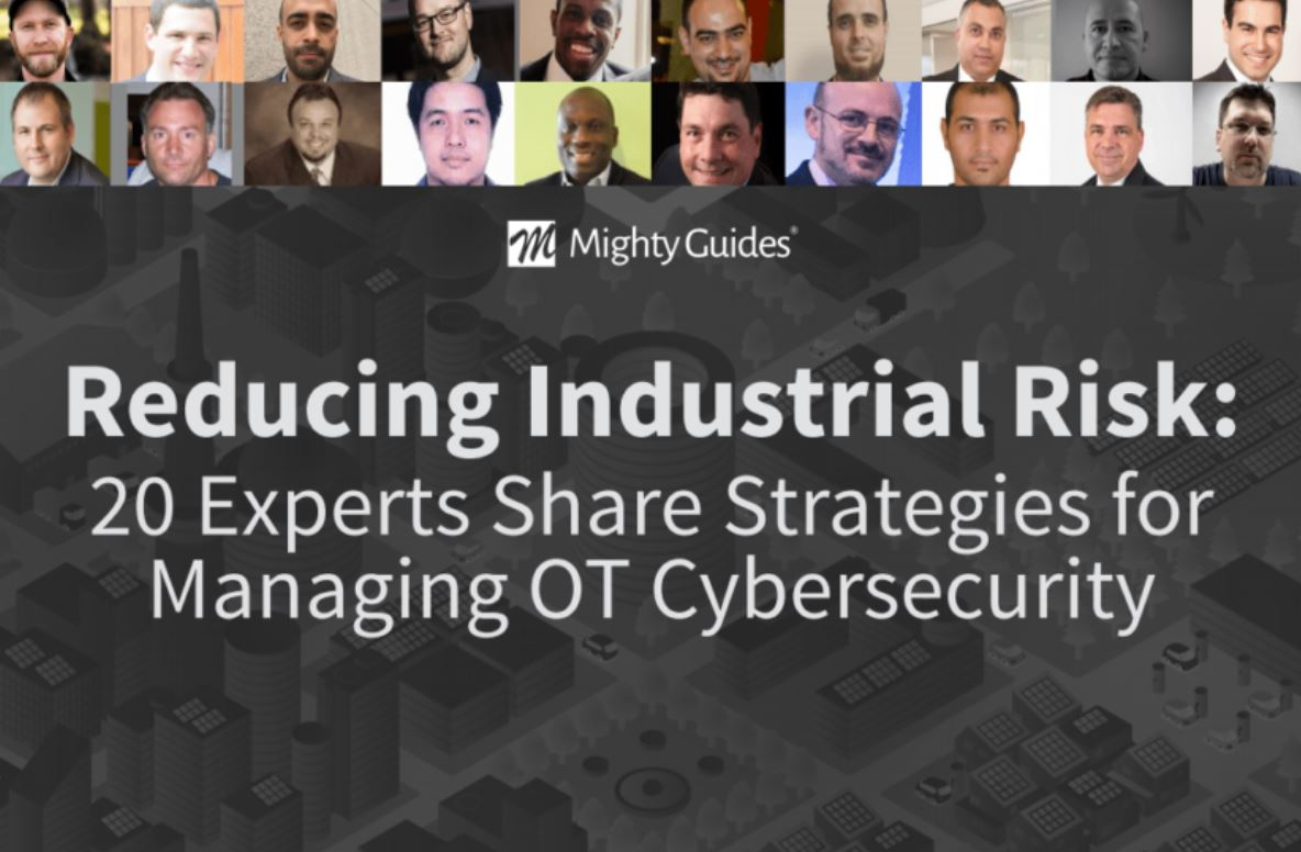 Reducing Industrial Risk: 20 Experts Share Strategies for Managing OT Cybersecurity.  Experts here weigh in on the advice they would give a #CISO to make the plant OT/ICS environment more #secure from #cyber attacks.@PASGlobalhttps://mightyguides.com/pas-reducing-industrial-risk-20-experts-share-strategies-for-managing-ot-cybersecurity/…