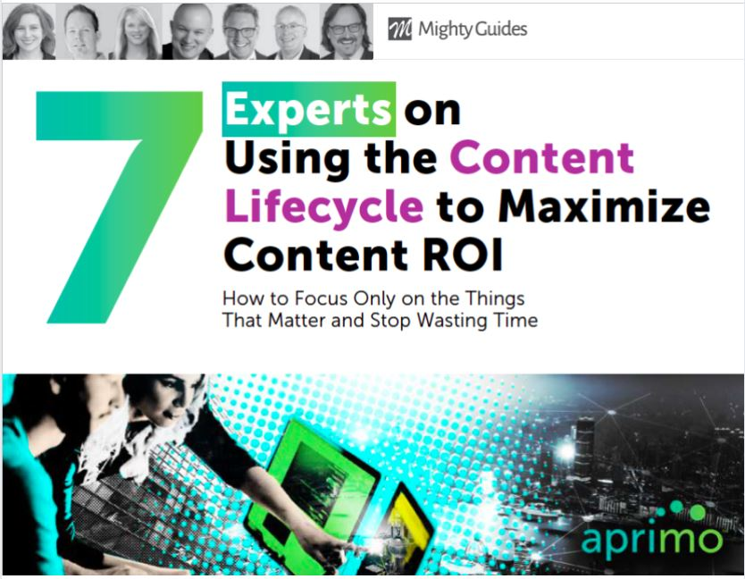 7 Experts on Using the Content Lifecycle to Maximize Content ROI.  Important insights from #marketing #experts about managing each stage of the content lifecycle: #ideate, #plan, #budget, #create, #distribute and #analyze. @Aprimohttps://mightyguides.com/aprimo-7-experts-on-using-the-content-lifecycle-to-maximize-content-roi/…