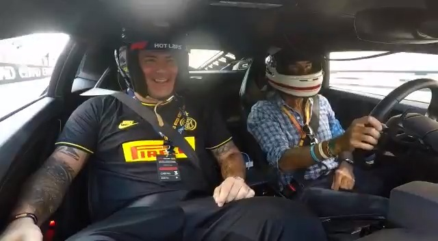 | HOT LAP  This time it was  @pirelli that put him to the test: Dejan  #Stankovic faced with the thrill of a Hot Lap on the Abu Dhabi circuit!   @pirellisport  #Fit4F1  #Pirelli  #F1PirelliHotLaps  #CyberFit