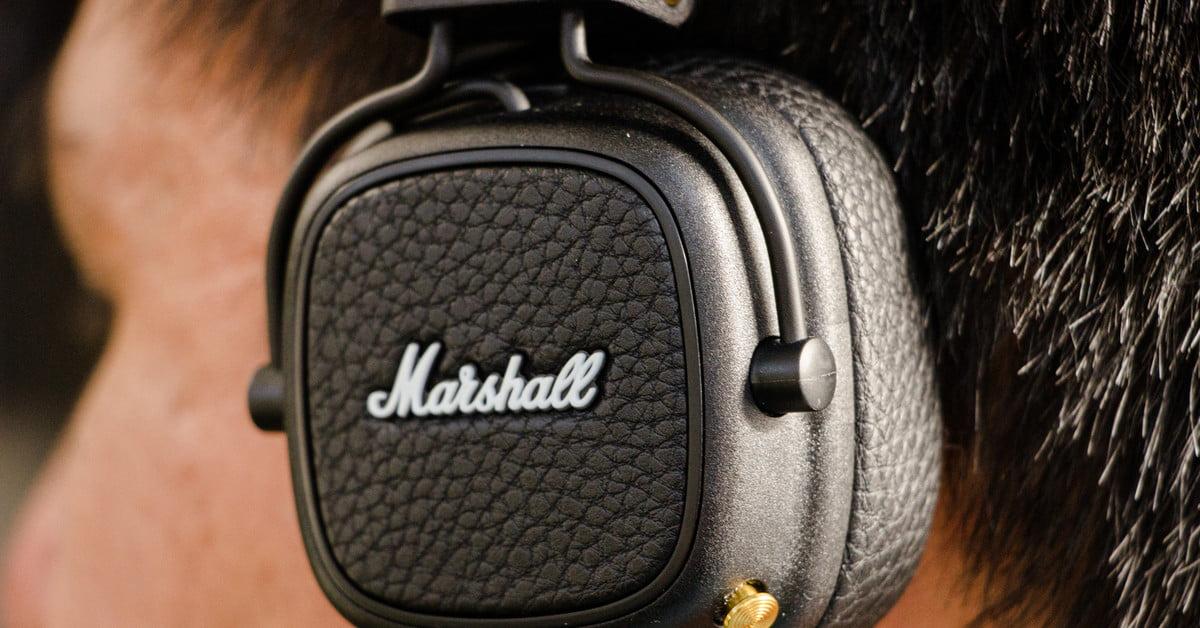 Revisión de los audífonos Marshall Major III Voice