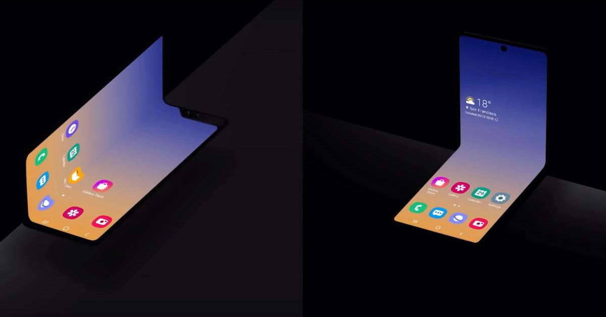Una pista del próximo plegable: #Samsung registra bisagra que se oculta