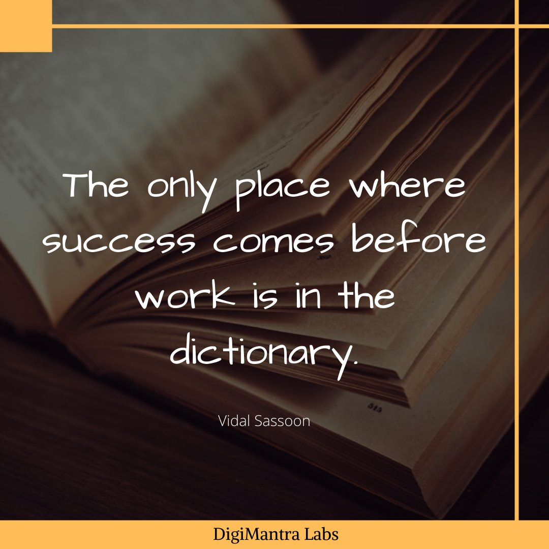 Your Work can only take you to the greatest extent of success.  #morningmotivation #morning #opportunity #inspiration #business #growth #digimantralabs #digitian #quotes #inspirationalquotes<br>http://pic.twitter.com/r3a7ui2in3
