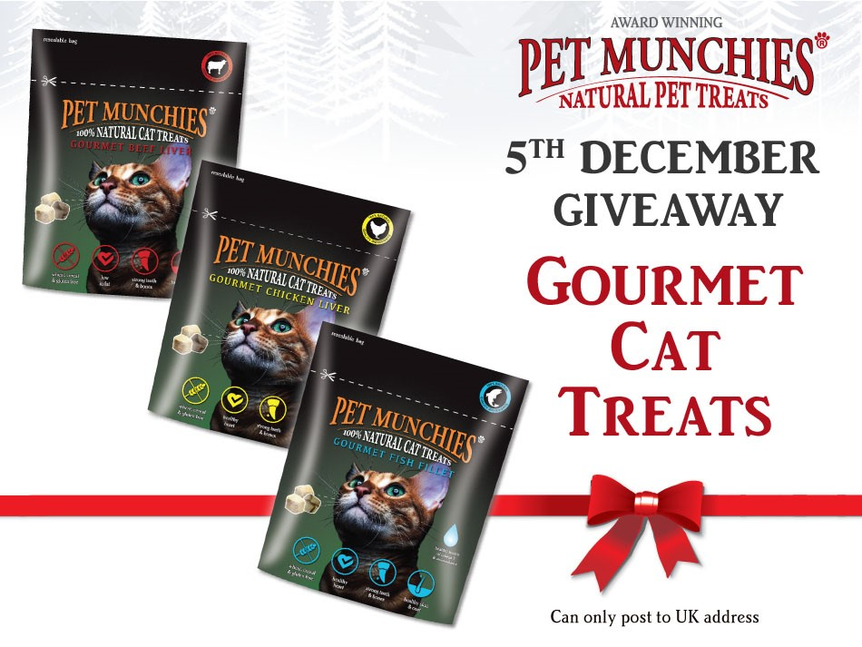 #win #PetMunchies 5th Dec #christmas #giveaway Simply follow & RT this post to be in with a chance.! Enter as many times as you like from 5th to 24th Dec.   #cat  #chicken #treats #cattreats #cats #CatsOfTwitter #catsofinstagram  #AdventCalendar<br>http://pic.twitter.com/SAytBxpnEb