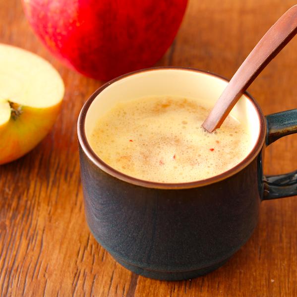 【レシピ】『レンジでホットおろし林檎』いま風邪に負けてる場合じゃない…身体温まるし美味しいしほっとします