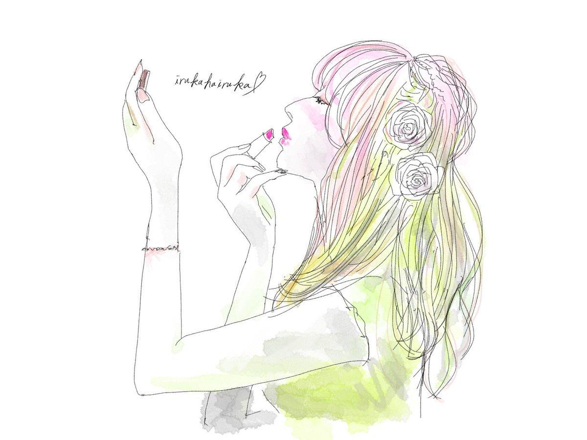 いるかはいるか Twitterissa イラスト イラストレーター Illustrator イラストac いるかのはなし いるかはいるか シンプル ファッション こなれ感 水彩 女の子 かわいい かわいい女の子 イラストグラム イラスト好き おしゃれ女子 おしゃれ 絵師