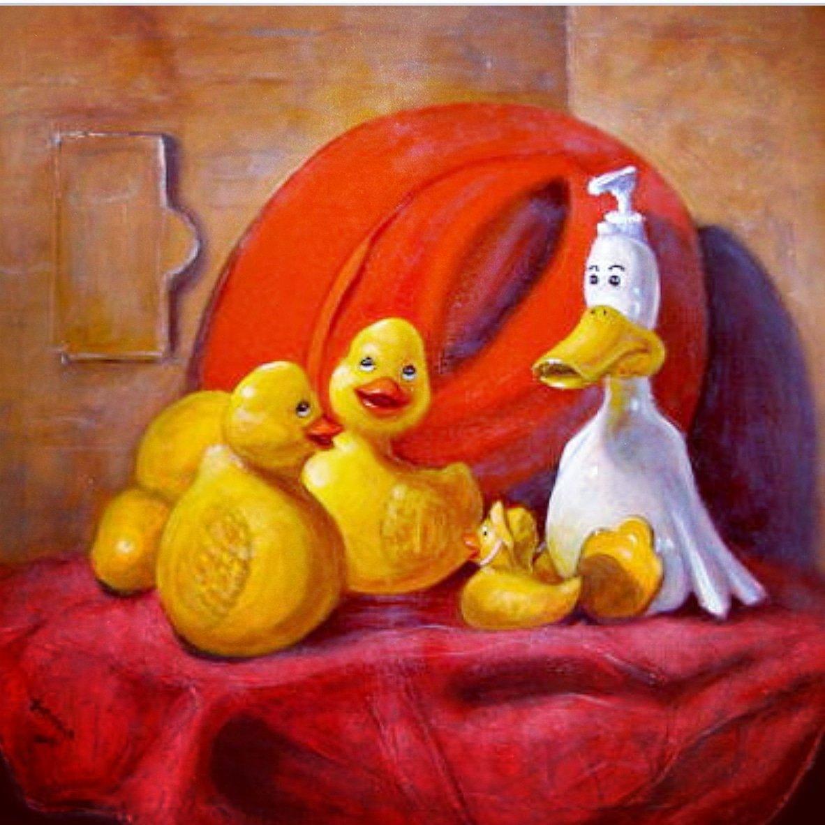 Duck Soap With Red Hat  by Donelli Dimaria     #ducksofart #artastic #print #thursday #artprint #paint #canvas #canvaspainting #stilllife #funart #artlove #likeit #loveit #art4life #artparade #artist #colorfulart #animalart #originalart #artclub #artinfo #artgallery<br>http://pic.twitter.com/O2VFNky6wt