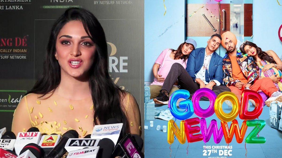 #GoodNewwz के गानों पर बोली #KiaraAdvani | #AkshayKumar, #KareenaKapoorKhan, #DiljitDosanjh  @advani_kiara @akshaykumar @diljitdosanjh #Bollywood #BollywoodNews #Bollyspy   Watch Video 👉