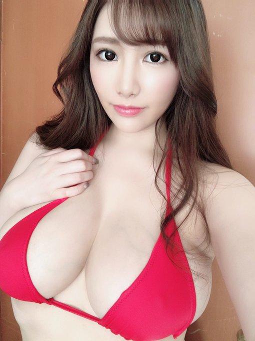 AV女優若月みいなのTwitter自撮りエロ画像64