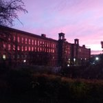 Image for the Tweet beginning: Salts Mill in the pink.
