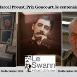 Image for the Tweet beginning: #agenda Le 10/12, l'#HôtelLittéraire #LeSwann
