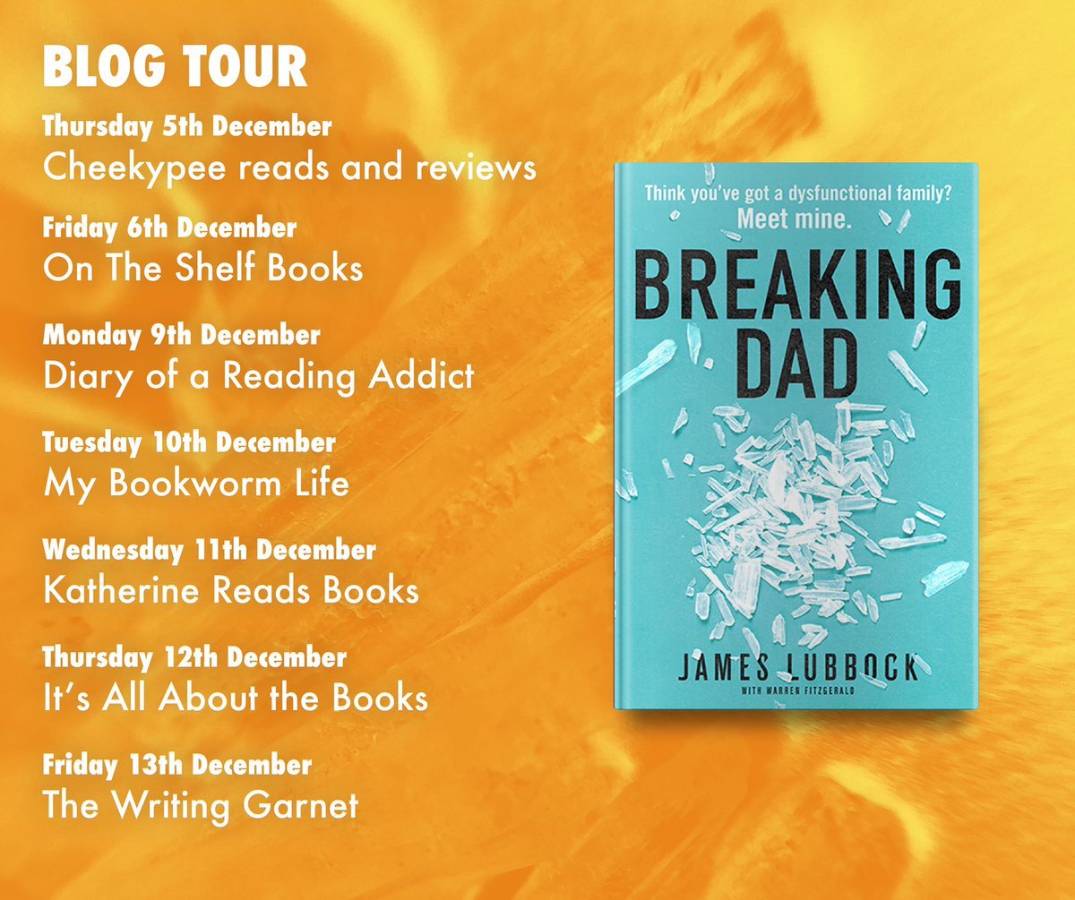 Cheekypee reads and reviews: Breaking Dad - blog tour : https://t.co/vaFO2fYB82 @lubokian @TheMirrorBooks https://t.co/S3OHmlgHaj