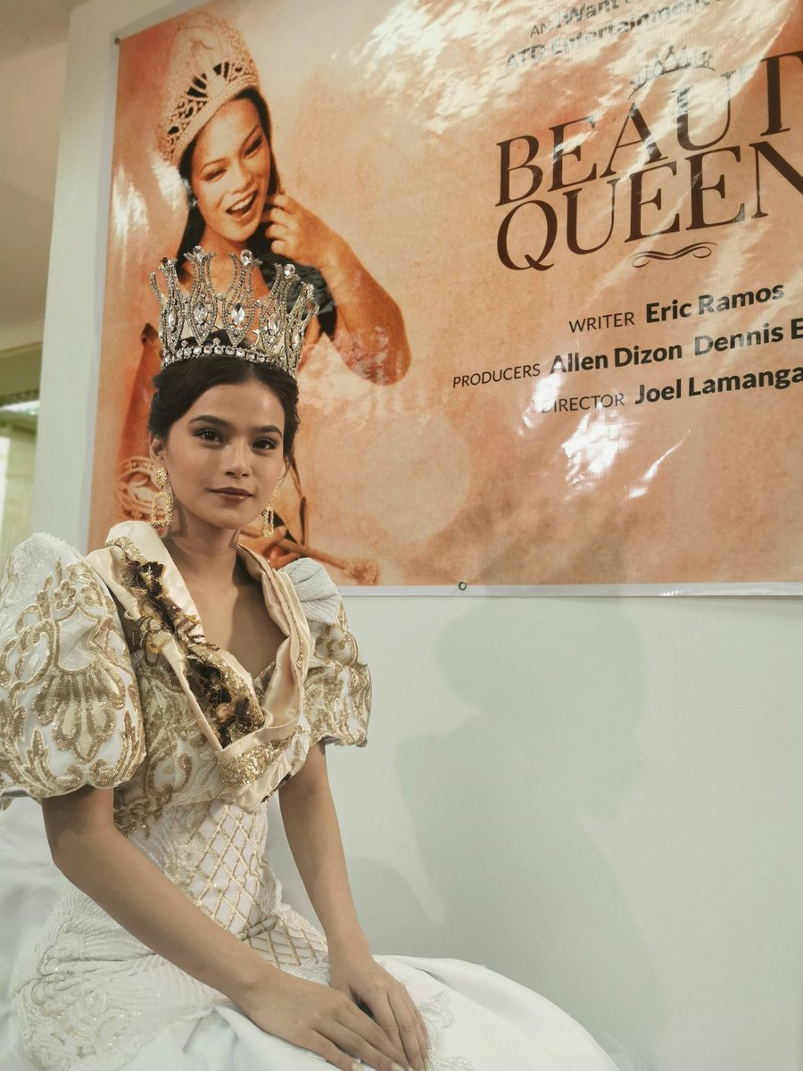 LOOK: Maris Racal will play a vital role in the upcoming iWant series Beauty Queens with Gloria Diaz.