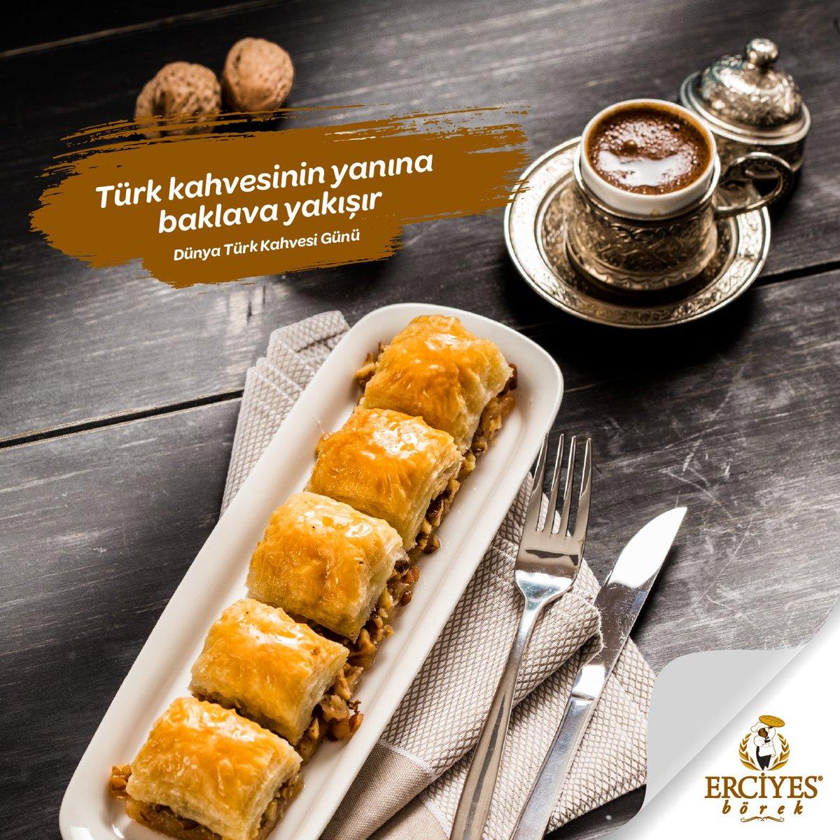 Dünya Türk Kahvesi Günü Kutlu Olsun.  #5AralıkDünyaTürkKahvesiGünü #erciyesborek https://t.co/SVIeRauGXT
