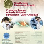 Image for the Tweet beginning: 📜Conferimento dell'onorificenza di professore Emerito