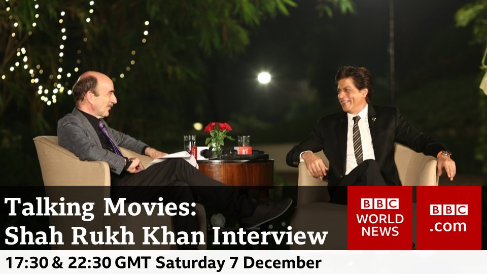 Don't miss #Bollywood legend Shah Rukh Khan as he sits down with #TalkingMovies @tombrook to discuss 20 years of Bollywood, the successes, the failures & the future of Indian cinema @iamsrk @BBCTalkMovies #India