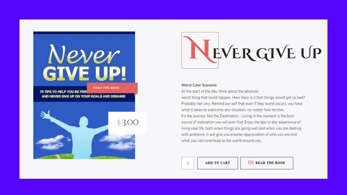 NEVER GIVE UP _____Cheryl T Long Blogger and Author  Website:  https:// deardaughterslovesmom.com/product/leo/     Amazon:  https://www. amazon.com/CHERYL-T-LONG/ e/B07JNCCZR2  …  . . . #BookReaders #booklover #bookish #bookaholic #motivationalbook #motivationalbookreview #motivationalblogger #motivational #loveyourself #Author #Writter<br>http://pic.twitter.com/BfMEjLAitz