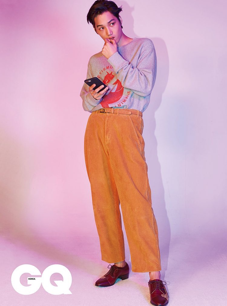 Jongin was also wearing Gucc for GQ korea   #GQBestDressed_KAI   #WeareoneEXO   #ObsessedWithKai  #OBSESSEDwithEXO  #obsession   #EXO   #EXODEUX   @weareoneEXO<br>http://pic.twitter.com/3CETKH9FKg
