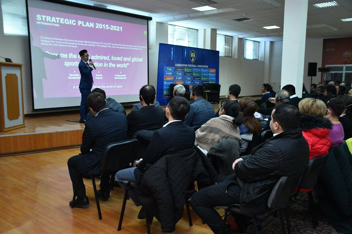 FIFA, UFA and Uzbekistan Professional League hold capacity building workshop for regional clubs in Tashkent 🇺🇿⚽️🤝 📰➡️fifa.com/about-fifa/who… #FIFAForward ✅