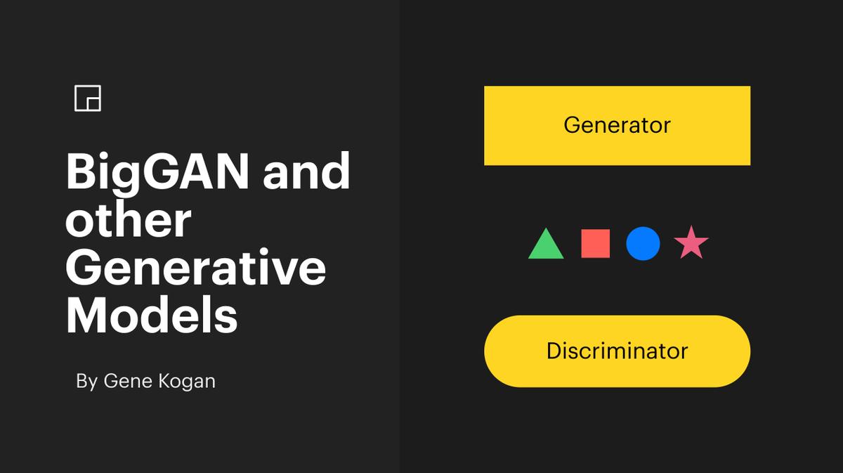 BigGAN and Other Generative Models - YouTube
