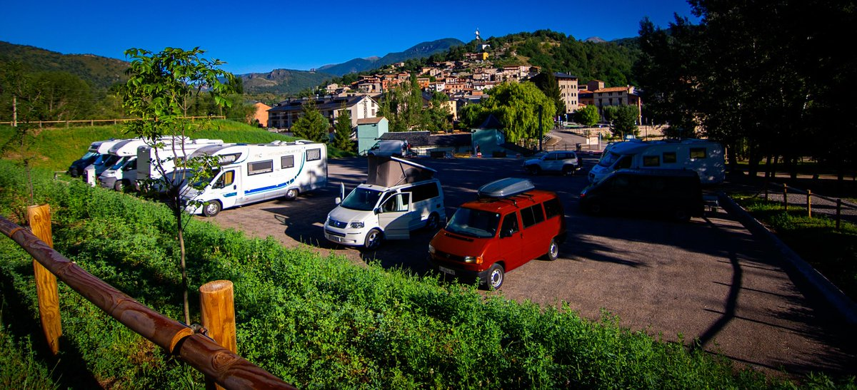Nuevas #áreas de #autocaravanas en #Aínsa, #Martinet y #Sidamon #Huesca #Lleida  @EySMunicipales