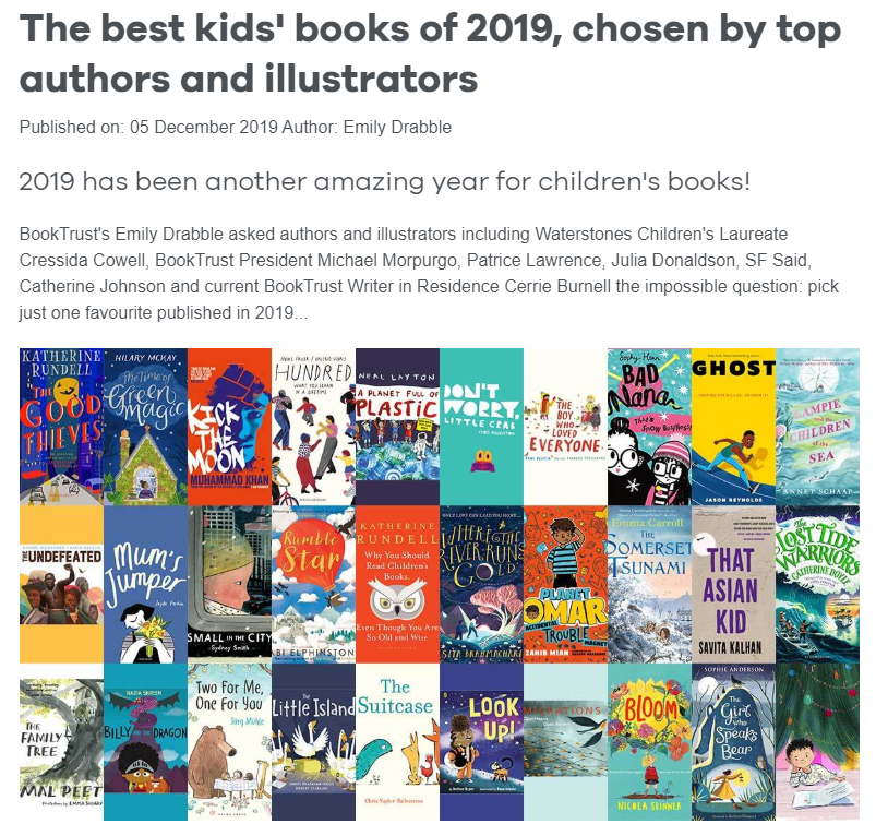 We love @Booktrust's list of the best children's books of 2019 as chosen by authors and illustrators - including GHOST and PATINA by @JasonReynolds83, picked by @brixtonbard! Keep an eye out for the next two books in the series from @_KnightsOf in 2020 💜https://www.booktrust.org.uk/news-and-features/features/2019/december/the-best-childrens-books-of-2019-chosen-by-top-authors-and-illustrators/…