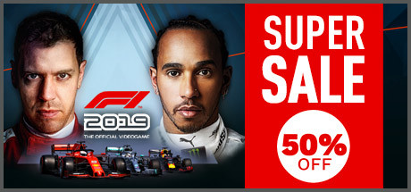 Feeling the blues now that the F1 season is over for another year? Then nows the perfect time to create your own F1 story. F1 2019 is currently 50% off on Steam! Get it here ▶ buff.ly/2ptS4Ol
