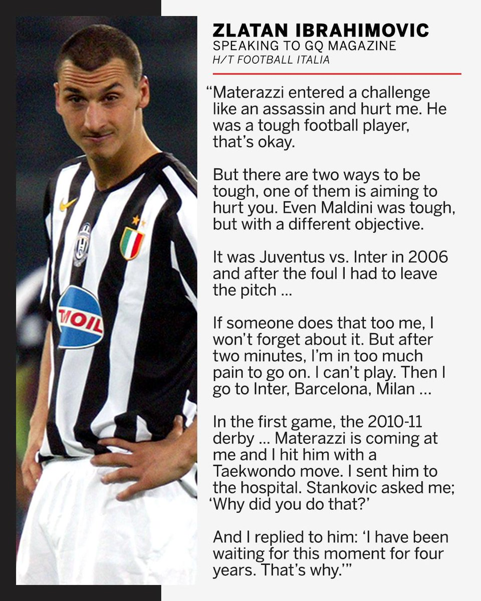 Dont mess with Zlatan 😳