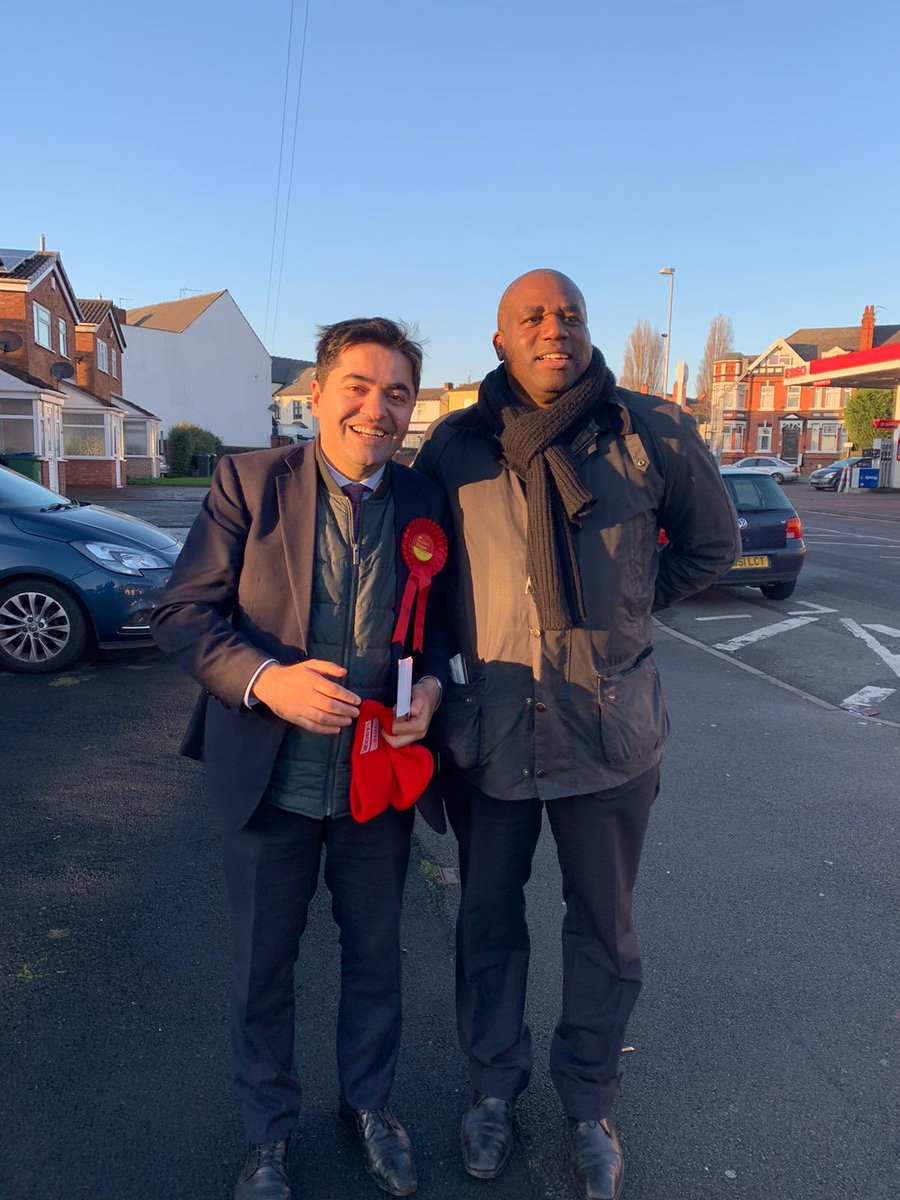 Was delighted to have my good friend @DavidLammy supporting our campaign with comrades from @WBE_Labour to win West Bromwich East for @UKLabour #GE2019 #labour