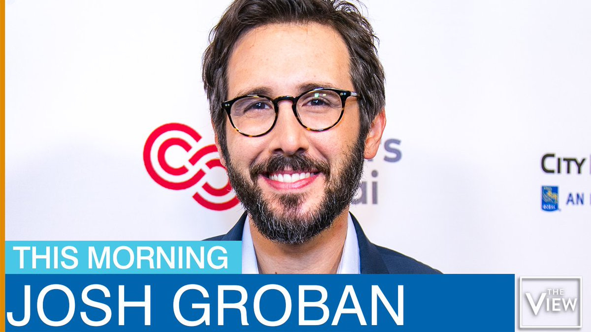 COMING UP: The incredible @joshgroban joins us LIVE at the table!