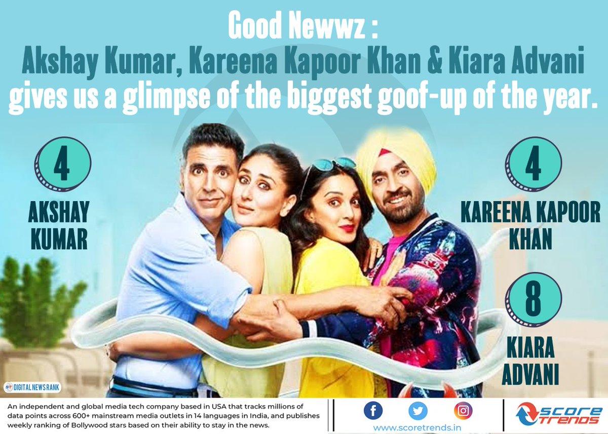 Good Newwz : Akshay Kumar, Kareena Kapoor Khan & Kiara Advani gives us a glimpse of the biggest goof-up of the year. @akshaykumar @advani_kiara   #Bollywood #Movie #GoodNewwz #KareenaKapoorKhan #AkshayKumar #KiaraAdvani #Celebrity #News #Trends