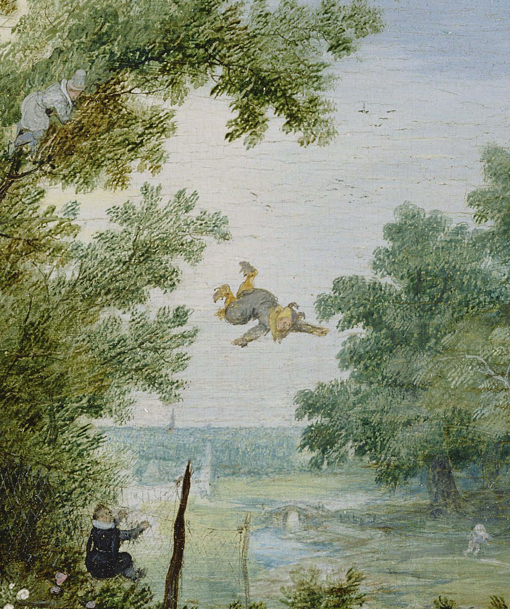 """oh, wow - what kind of """"sport"""" is this?!   detail views from A Merry Company in an Arbor - by Adriaen van de Venne 1615 #17thCentury <br>http://pic.twitter.com/GwTXUgVNKi"""