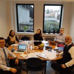 Image for the Tweet beginning: 🤩 The CFE Brussels Team