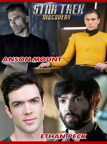 Coming up this w/end 6-8 Dec @Steelcitycon, this year's final chance to meet Captain Pike & Mr Spock aka @AnsonMount & @EthanGPeck!Talk: Fri at 5pm Events RoomPhotos: Fri 6.10pm, Sat 5.20pm, Sun 3.30pm Full Schedules: https://www.steelcitycon.com/celebrity-schedules/… #StarTrekPike #StarTrekDiscovery