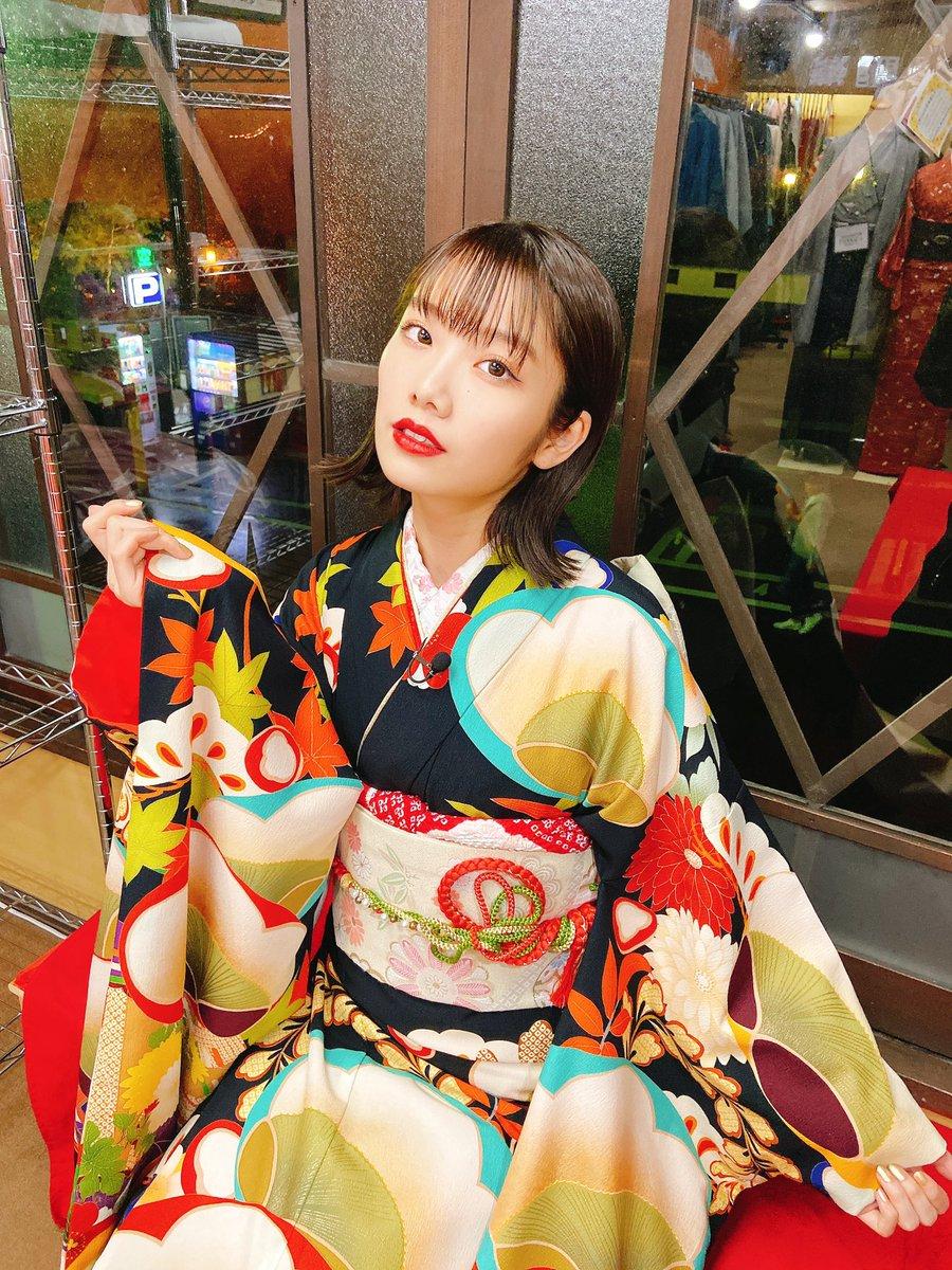 そして今夜は!読売テレビ #音力 出演です🥰25:59〜!!京都で路上ライブした様子が観れます😮関西方面の方、チェックよろです!これみて待っててください😚MVじゃ見れないダンスも観れるかも🤔?MVとはまた違った振袖。かわいい、、🤭❤️#Jewel