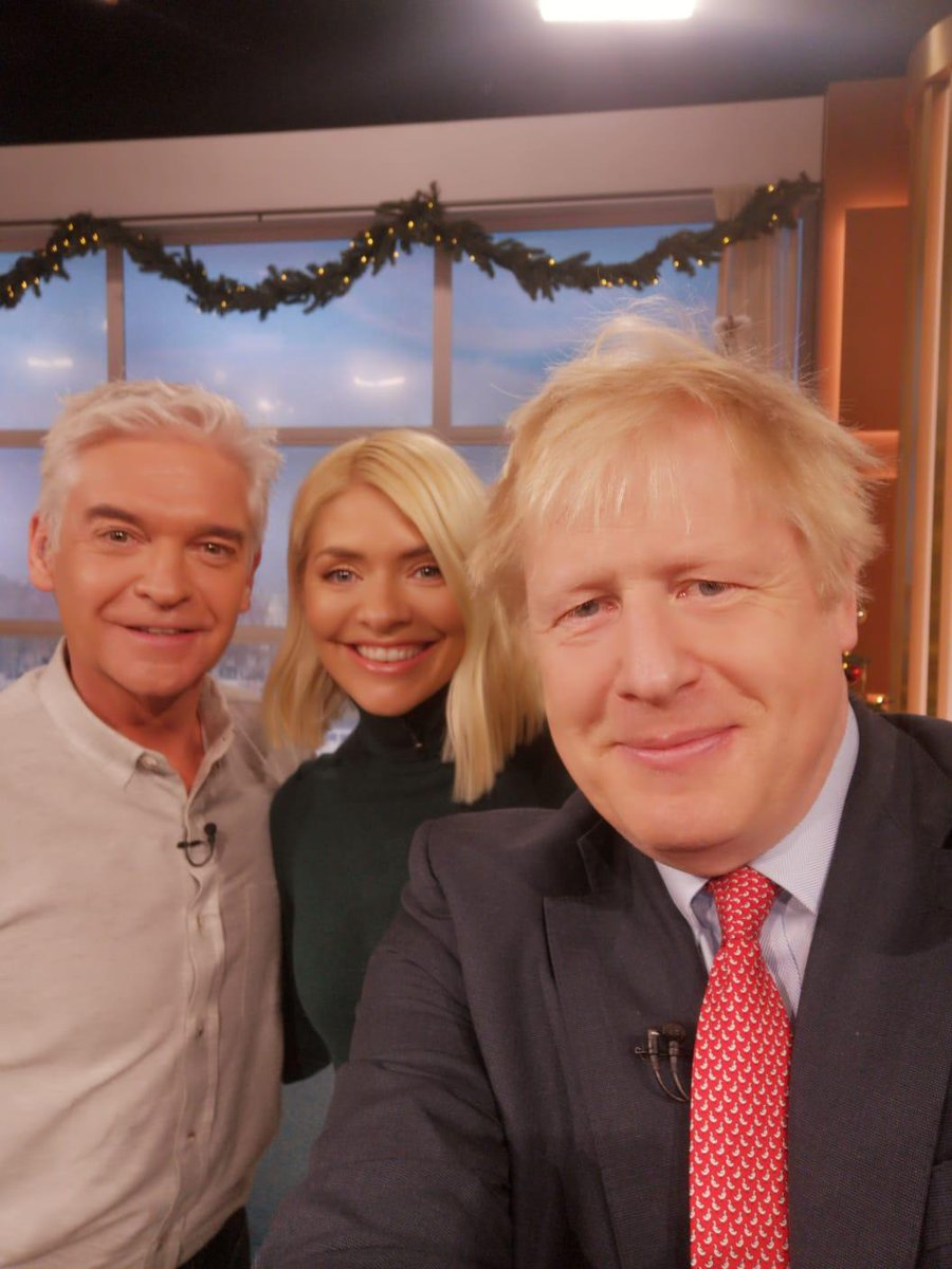 Thank you to Phillip and Holly at @thismorning - a good opportunity to talk more about our exciting vision for the country #GetBrexitDone