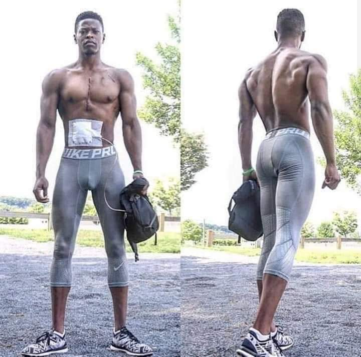 #GodIsWonderful #ASUU Wen u think urs is d worst think about this  His name is Andrew Jones. This 27-year-old bodybuilder who was suffering from heart failure was transported to hospital for a transplant & came out wit an artificial heart, which he carries wit him in a backpack <br>http://pic.twitter.com/TQOufzduQL