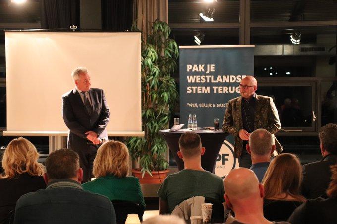 Geslaagde avond LPF Westland met Jan Dijkgraaf https://t.co/OQySSvF8KI https://t.co/WMWFvCQoXT