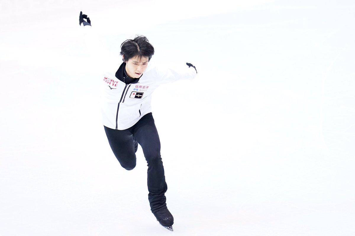 【フィギュアスケートGPファイナル】#羽生結弦 公式練習#figureskate #フィギュアスケート