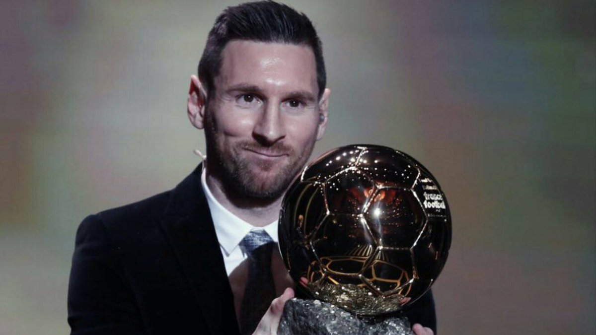 [RAC1]   Lionel Messi will present his 6th  #BallonDOr at the Camp Nou before the match against Mallorca. Barça have already received approval from La Liga.