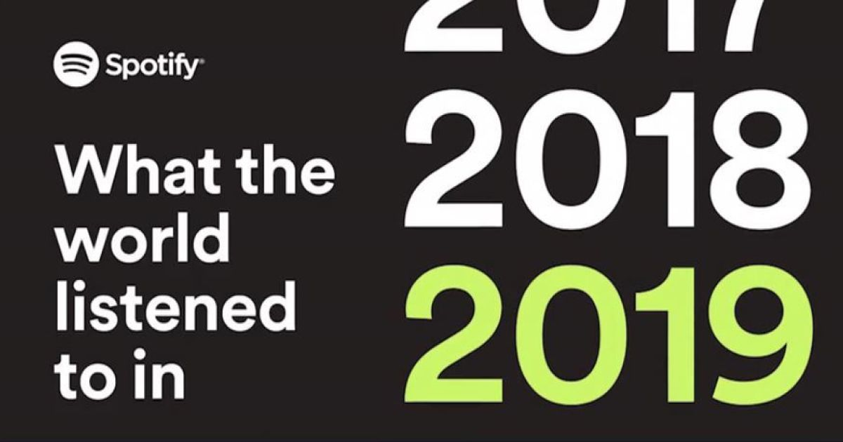 Spotify Wrapped showcases your top tracks of 2019 and the past decade